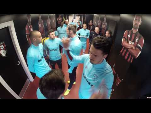 Tunnel Cam: Take a candid look inside the tunnel from AFC Bournemouth v West Ham