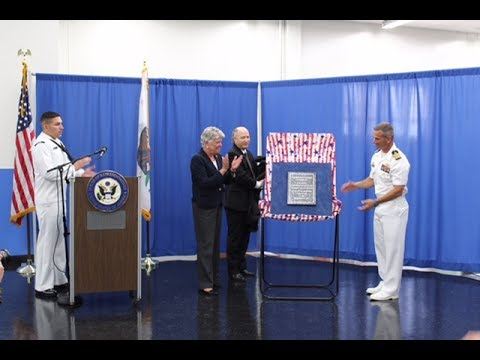 Fallen Seabees Post Office Dedication Ceremony