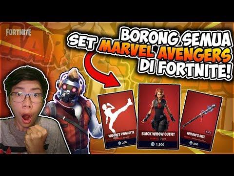 Borong Semua Skin Marvel Avengers Set Di Fortnite Indonesia