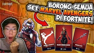 Borong all Marvel Skin Avengers Set on Fortnite Indonesia