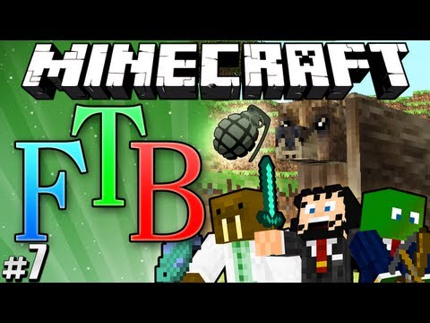 "Minecraft: Feed the Beast #7 ""Exploding Bears"""