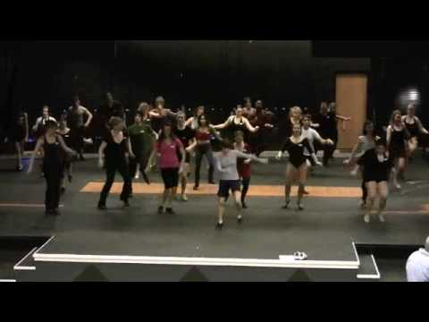 Auditions for A Chorus Line at Broadway Rose Theatre