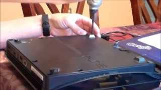 HOW TO Open PS3 & Fix No Power - Powersupply install