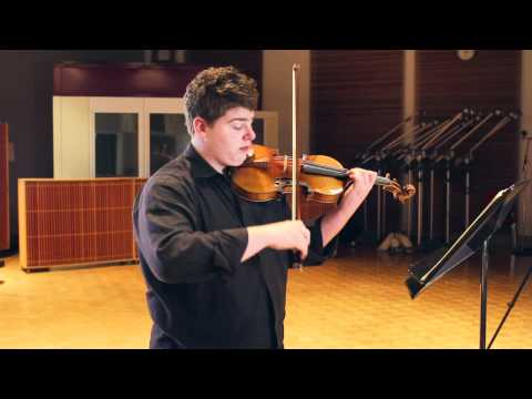 Chad Hoopes - Brahms: Violin Sonata No. 2 Op. 100: II. Andante Tranquilo