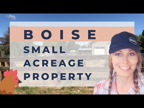 ACREAGE PROPERTY IN BOISE, IDAHO: WHAT TO KNOW