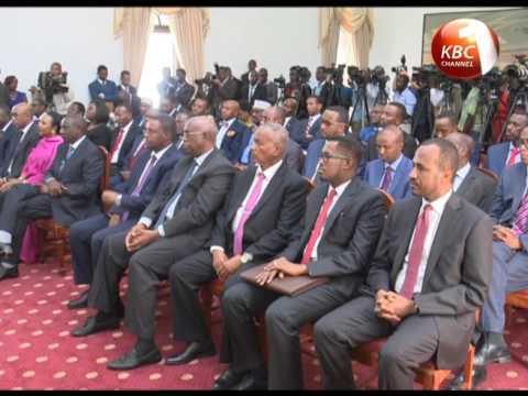 Uhuru, Somali President hold talks in State House