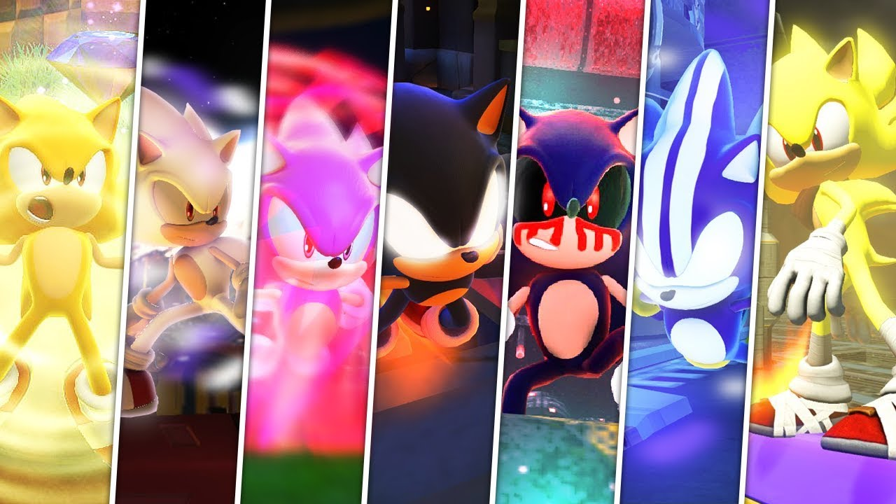 Sonic Forces: Into The Super Sonic Verse