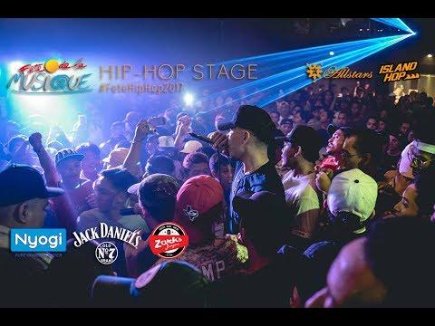 #FeteHipHop2017 // Fete De La Musique Hip Hop Stage 2017