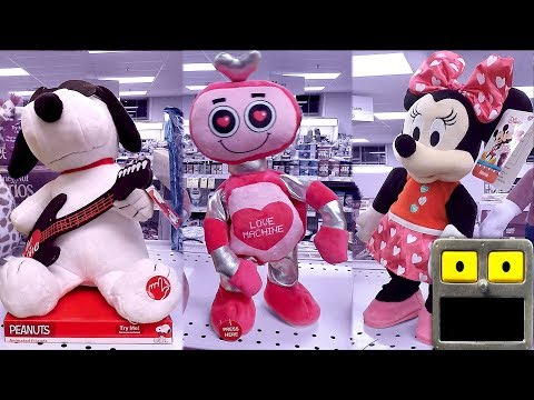 Valentines Day 2018 Animatronic Dancing Robot Animated Figures Side Stepping Side Steppers Toys Doll