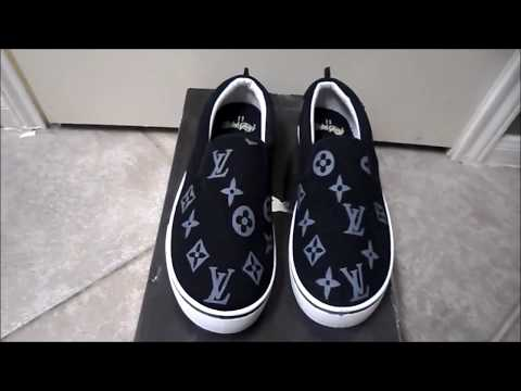 Louis Vuitton Style  Custom Kicks