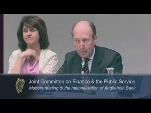 Senator Shane Ross Grills Anglo's Alan Dukes
