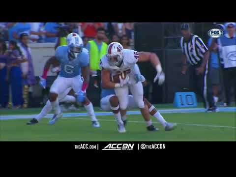 Virginia vs North Carolina College Football Condensed Game 2017