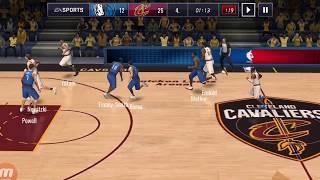 NBA MOBİLE NEW SEASON DALLAS MAVERİCKS VS CLEVELAND CAVALİERS AUTOMATİC GAME
