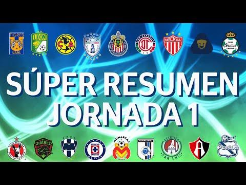 Sper Resumen   Jornada 1 - Clausura 2020   Liga BBVA MX