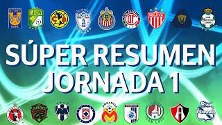 Súper Resumen Jornada 1 Clausura 2020 Liga BBVA MX