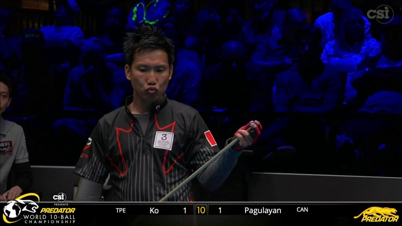 2019 Predator World 10 Ball Championship: Alex Pagulayan vs Ko Ping-Chung