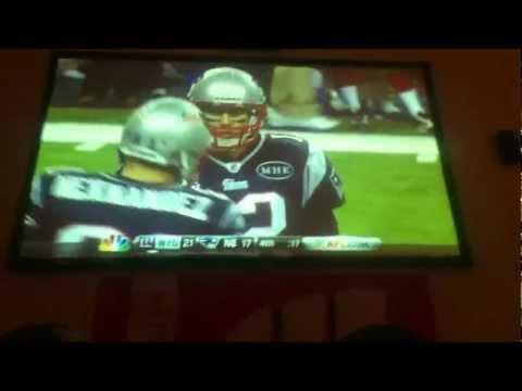 Super Bowl XLVI - Final Drive with fan reactions