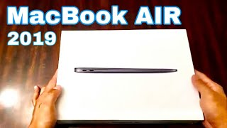 Unboxing and Set up MacBook Air 2019