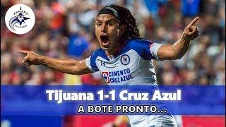 Xolos 1-1 CRUZ AZUL   Jornada 4   Apertura 2018   Resumen