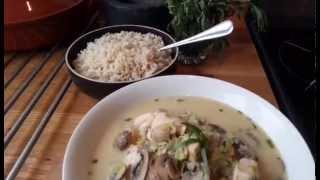 Healthy Mushroom And Tarragon Chicken