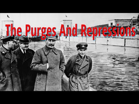 The Purges and Repressions in the USSR