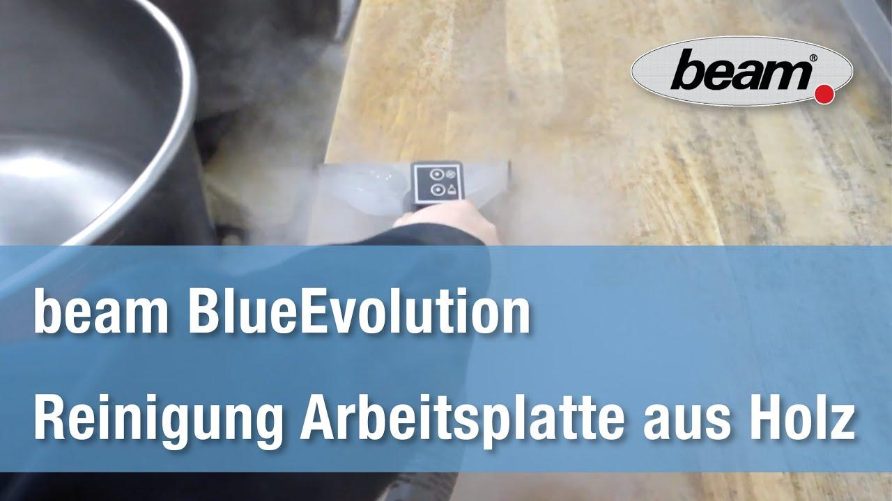 Sehr beam BlueEvolution S+ Dampfsauger - Arbeitsplatte aus Holz OO39