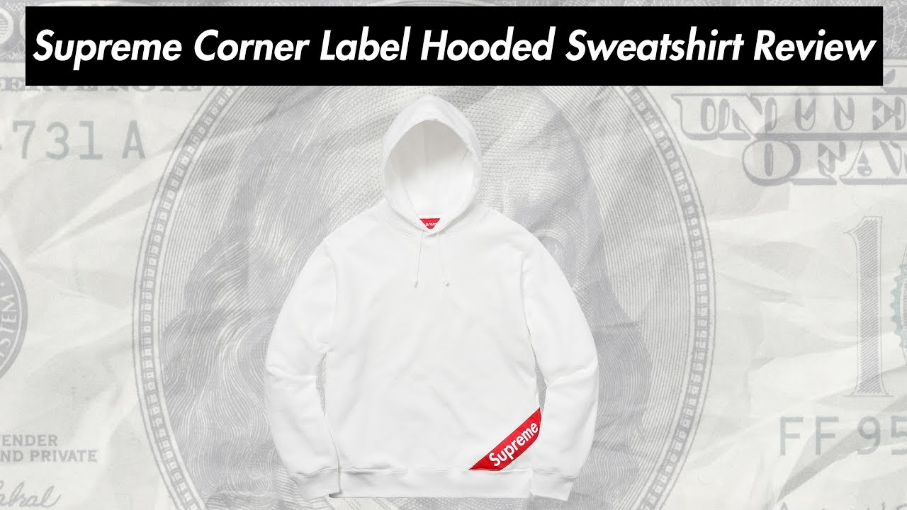 Biggest Streetwear Skateboarding And Fashion Clothing Brands Photo And Video Reviews Blog Supreme Corner Label Hooded Sweatshirt 18ss Review 22 02 2018 Week 1 Drop [ 720 x 1280 Pixel ]