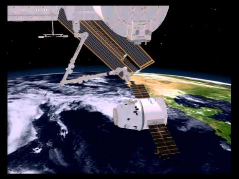 Canadarm2 to Catch SpaceX's Dragon on its Maiden Voyage to the ISS - Part 1