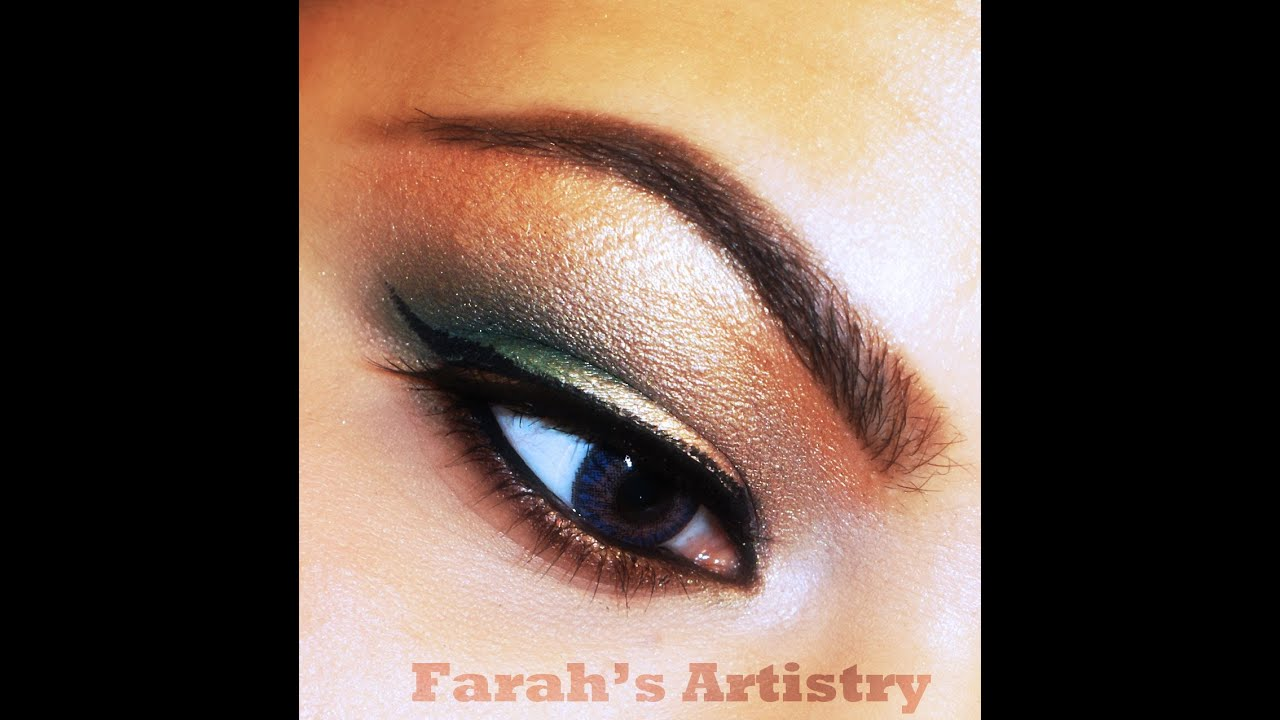 Simple Basic Sultry Prom/Party Eye Makeup - YouTube