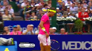Flashbacks: Nadal vs Monaco Argentina Open 2015 Final