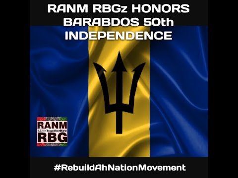 RANM RBGz HONORS THE 50th BAJAN INDEPENDENCE ANNIVERSARY