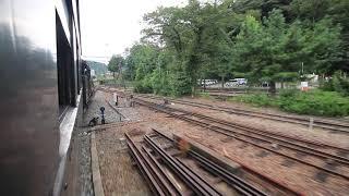 大井川鐵道 SL急行「かわね路号」 千頭駅発車 Steam locomotives train, Ōigawa Railway Senzu Station (2019.9)