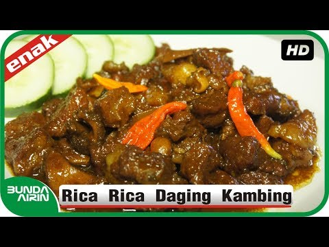 Resep Masak Rica Rica Daging Kambing Resep Masakan Nusantara Indonesia Mudah Simpel - Bunda Airin