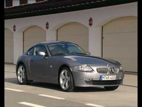 2006 BMW Z4 Coupe promotional video - YouTube