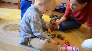 Английский детский сад - первая неделя обучения!