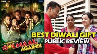 Full Dhamaal, Full Masti Film | Golmaal Again Public Review | Ajay Devgn, Parineeti, Arshad