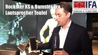 IFA 2015: Lautsprecher Teufel Rockster XS & Bamster Pro Bluetooth-Speaker |  Allround-PC.com