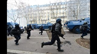 EU army vs the Yellow Vests in France?!