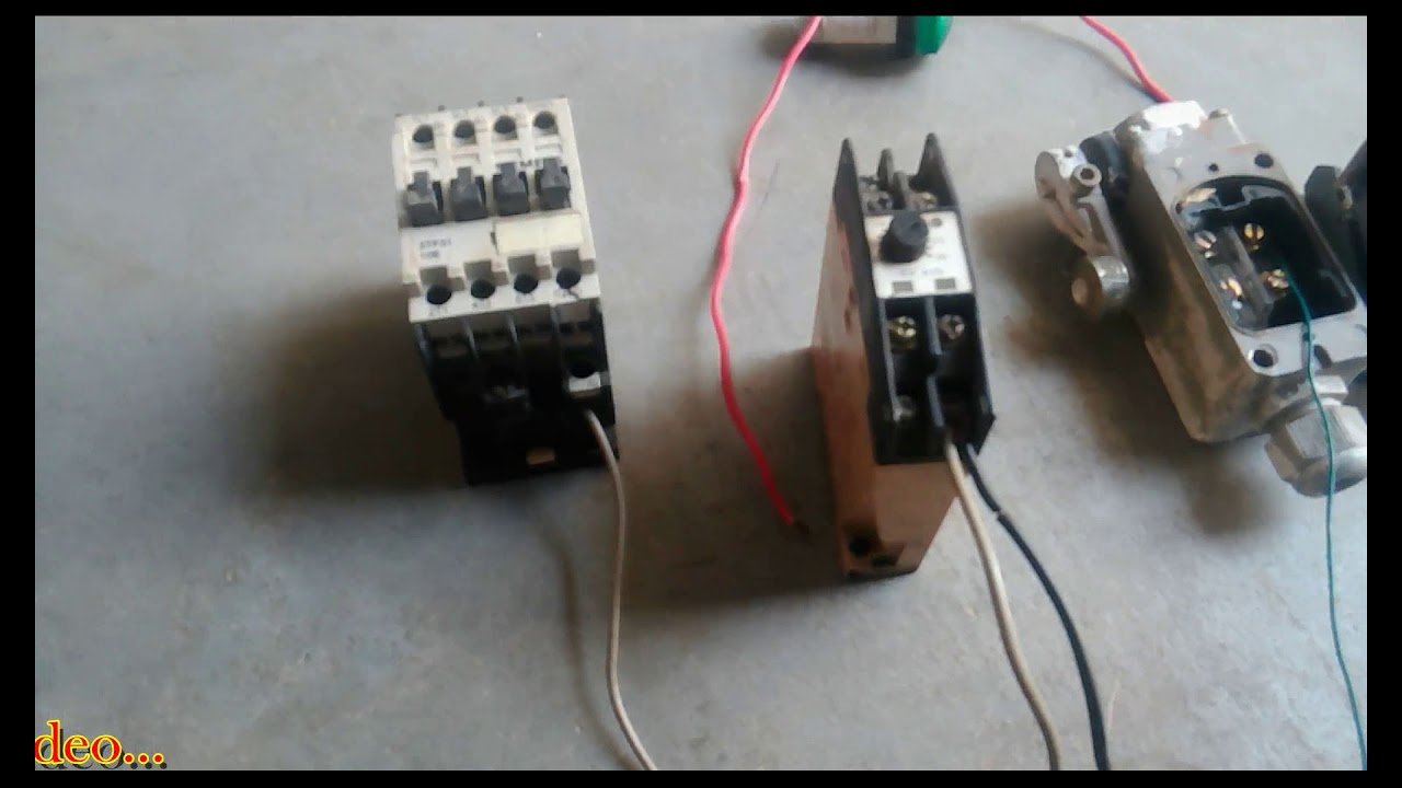 Timer With Limit Switch Wiring Diagram   How To Motor Off