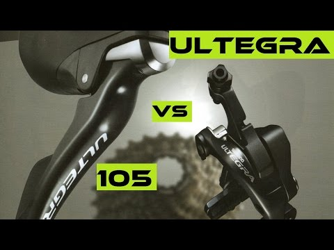 Part 3. Shimano Road - Ultegra 6800 vs 105 5800 Groupset. Buyers Guide / Review