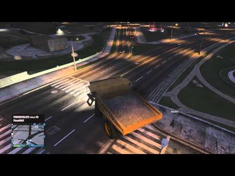 GTA 5 - Epic fun with the Dump Truck!