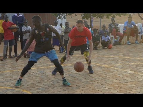 Professor 1v1 vs Two College African Hoopers... Gets locked up multiple times, EPIC endings