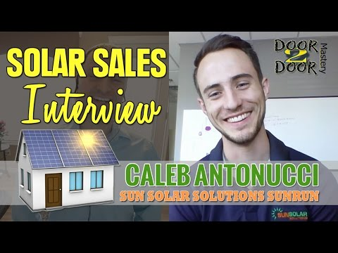 Solar Sales SunRun Interview Cleaner Energy