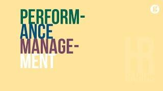 HR Basics: Performance Management 2e