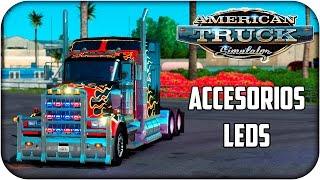 Truck Accessories & Leds | American truck simulator | 1.1.3