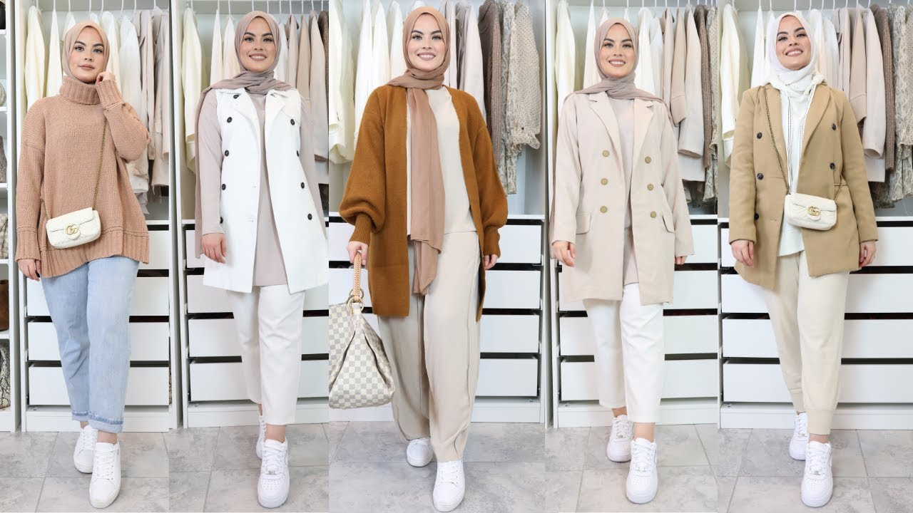 [VIDEO] - Casual Travel Fashion Lookbook 2019 | Autumn Winter Airport Outfits 2019 | Omaya Zein 4