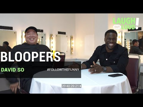 Kevin Hart Collab Bloopers | David So | LOL Network