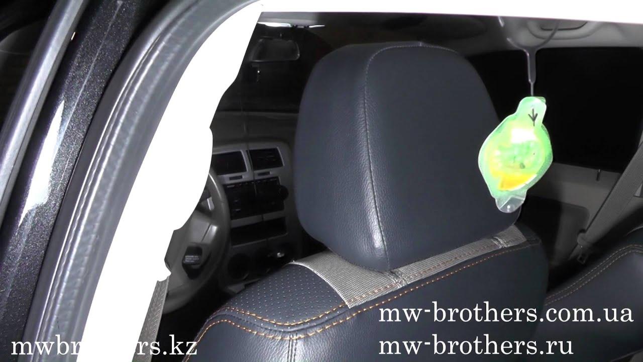 Чехлы для SsangYong Korando серая нить, MW Brothers