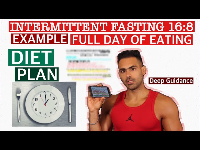 Intermittent Fasting Full Day of Eating Example Diet Plan | Deep Guidance by Harry Mander .
