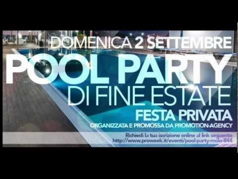 FESTA PRIVATA - DOMENICA 9 SETTEMBRE - POOL PARTY